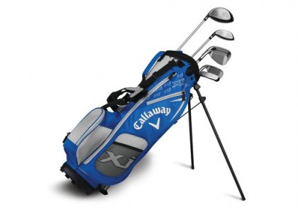 Golfový set Callaway XJ Junior LEVEL 2 modrý