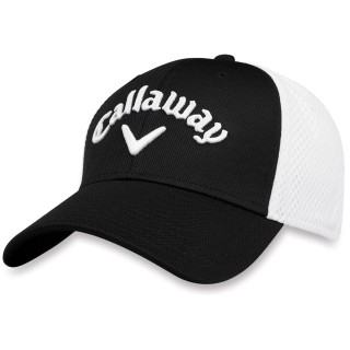 Šiltovka Callaway MESH FITTED black/white