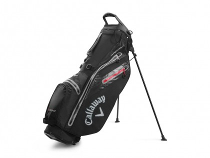 Stand bag Callaway HYPER DRY C Black/Charcoal/Red