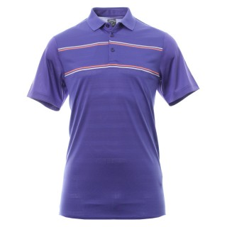 Tričko Callaway Engineered Jacquard Polo Liberty