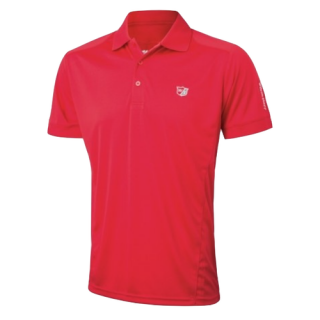 Tričko Wilson Staff Performance Polo Red