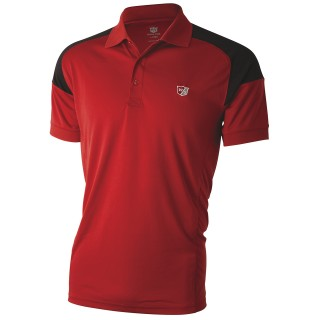 Tričko Wilson Staff Performance Polo Wilson Red