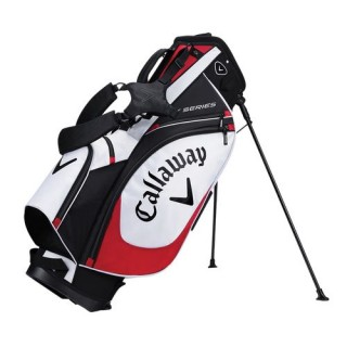 Stand bag Callaway X SERIES White/Black/Red